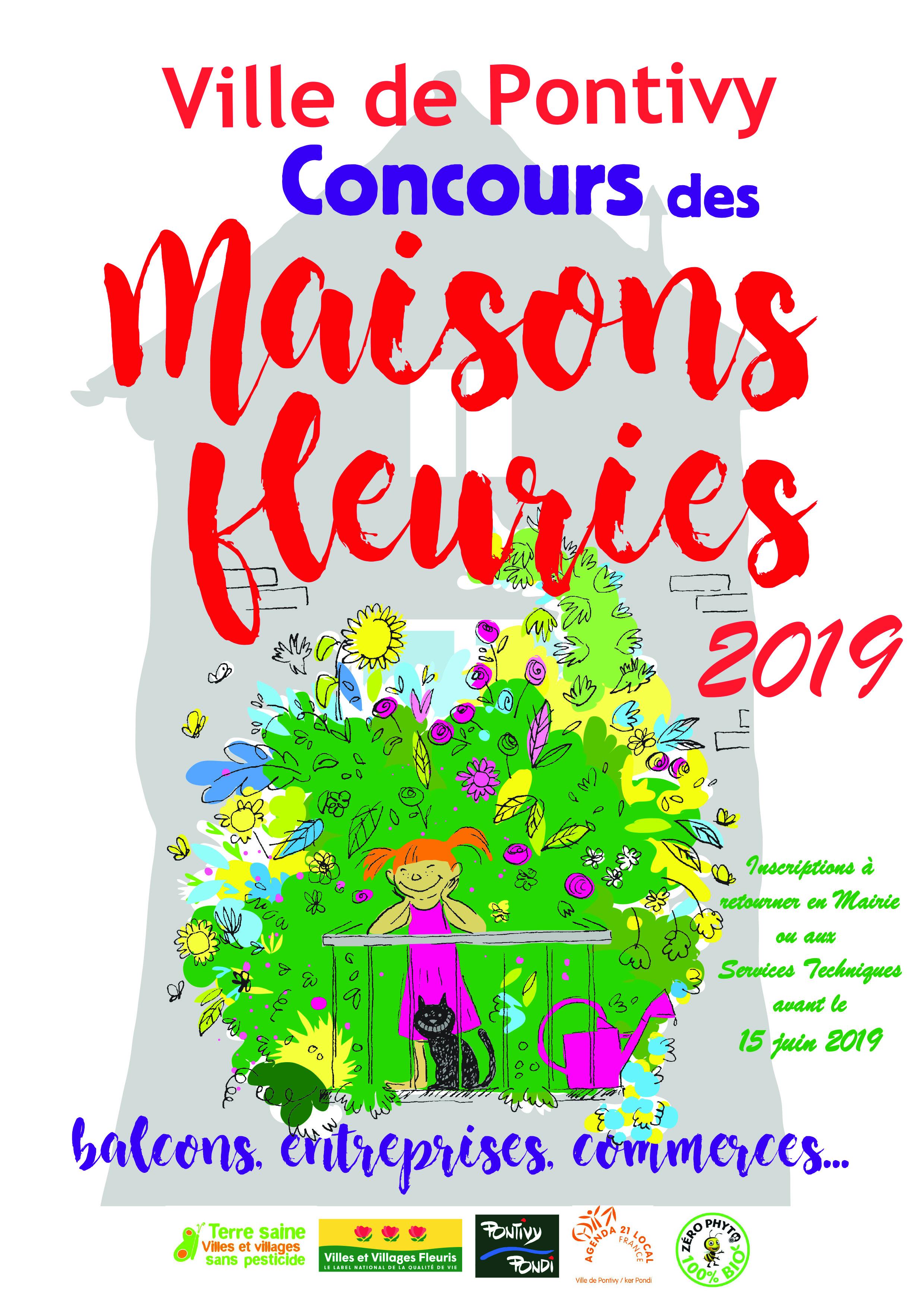 Concours des maisons fleuries 2019