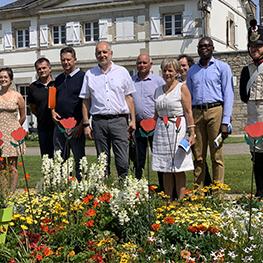 Visite du Jury du Conseil National des Villes et Villages fleuris