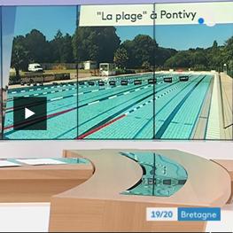 La Plage de Pontivy passe sur France 3 Bretagne