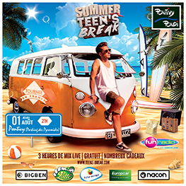 Tournée Summer Teen's Break de Fun Radio