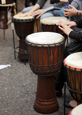 Animation initiation au Djembe
