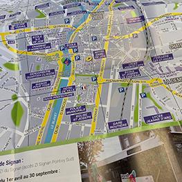 Nouvelle édition du plan de ville