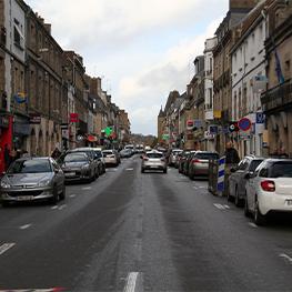 Tests à la fumée rues Nationales et Général de Gaulle