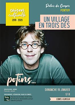 Un village en trois dés – Fred Pellerin