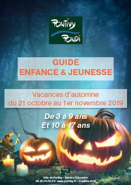 Programme du Centre de Loisirs – Octobre 2019