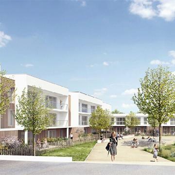 Résidence Clémenceau : 34 nouveaux logements sociaux à Pontivy