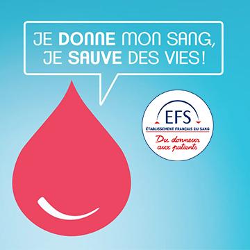 Don de sang : prochaines collectes