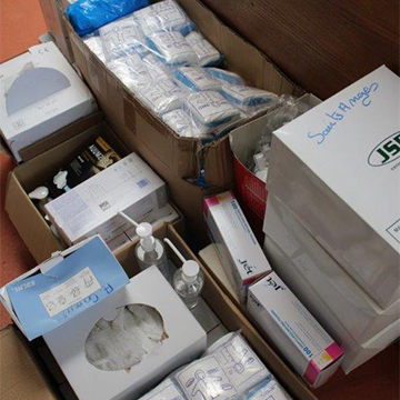 COVID-19 : Dons de matériels de protection sanitaire