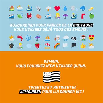La Ville de Pontivy est partenaire de l'opération #EmojiBZH !