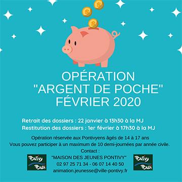 Opération «Argent de poche»
