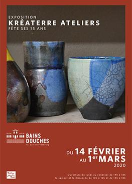 Exposition aux Bains Douches – Kréaterre Ateliers