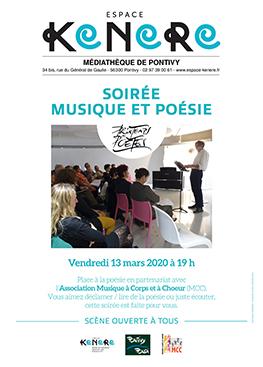 Espace Kenere – Soirée musique et poésie