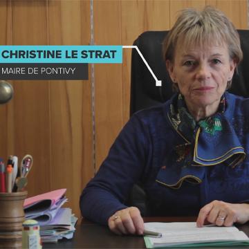 COVID-19 : Allocution de Christine LE STRAT, Maire de Pontivy