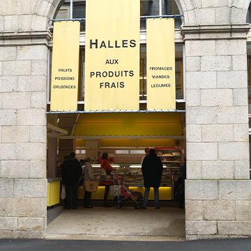 Réouverture du marché des Halles