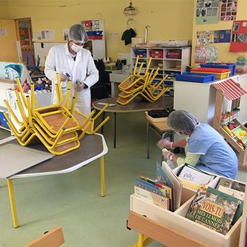 Réouverture des écoles pontivyennes