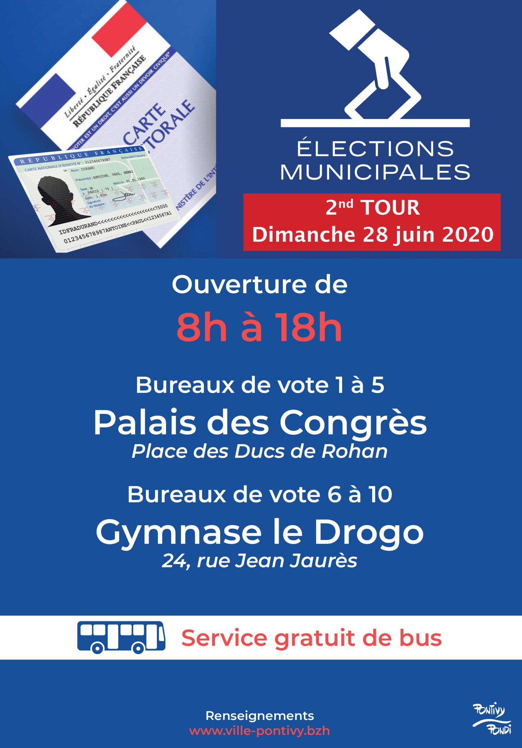 Second tour des élections municipales 2020