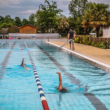 Ouverture de la piscine «La Plage»