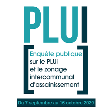 Enquête publique relative au PLUi et au zonage intercommunal d'assainissement