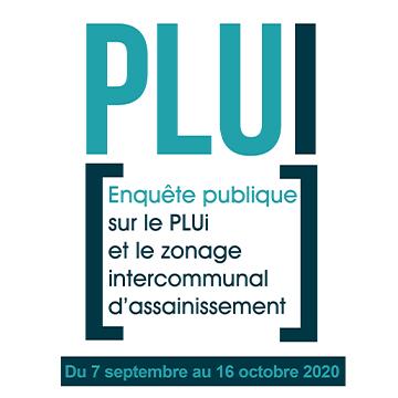 Enquête publique relative au PLUi et au zonage intercommunal d'assainissement