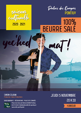 Humour : Simon Cojean 100% beurre salé