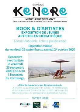 Book & d'Artistes, exposition de jeunes artistes en médiathèque