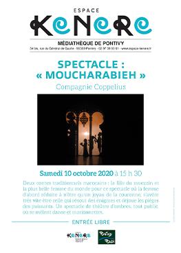 Spectacle : «Moucharabieh» de la compagnie Coppelius