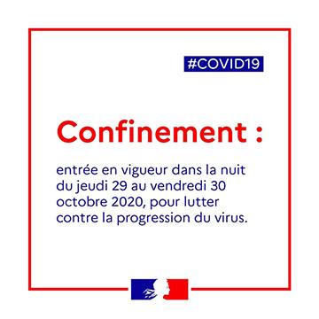 COVID-19 : Allocution de Christine LE STRAT, Maire de Pontivy – 29 octobre 2020