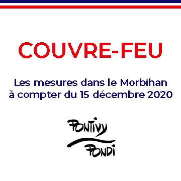 Le couvre-feu dans le Morbihan à compter du 15 décembre