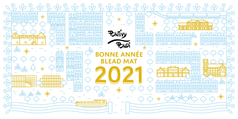 Belle et bonne année 2021 !