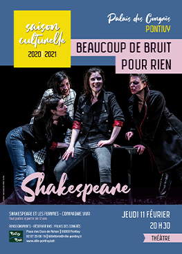 Théâtre : Shakespeare, beaucoup de bruit pour rien