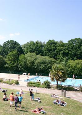 La Plage : piscine découverte