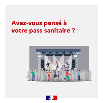 Mise en place du pass sanitaire – 21 juillet 2021