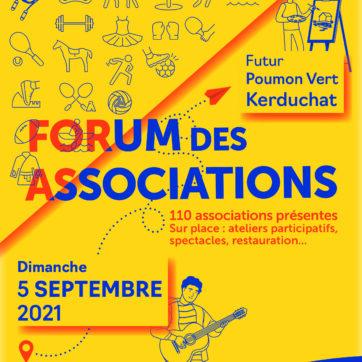 Changement de lieu – Forum des associations 2021