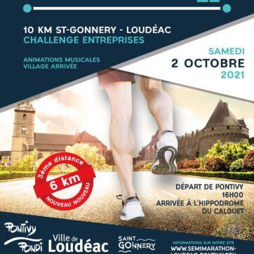 Départ du semi-marathon Loudéac Pontivy : samedi 2 octobre 2021