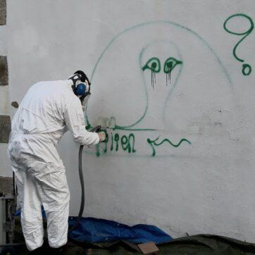 Service d'enlèvement des tags et graffitis